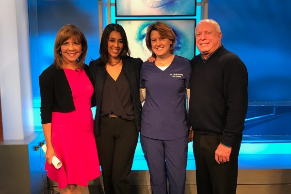 Jennifer Sokolosky DMD after Raindrop Inlay with Barabara Harrison, Shilpa Rose MD and Mark Whitten MD