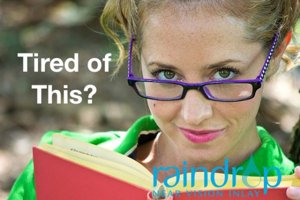 Raindrop Near Vision Inlay | Get rid of Readers! | Eye Associates of Washington DC