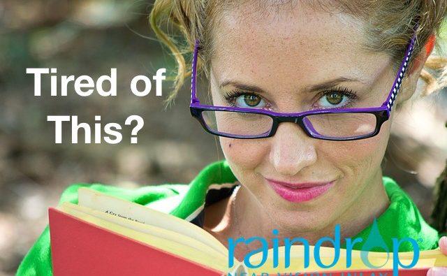 Raindrop Near Vision Inlay   Get rid of Readers!   Eye Associates of Washington DC